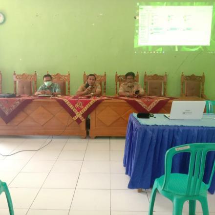 18 Desa di Kecamatan sumber menuju Desa Digital. (Pelatihan SID)